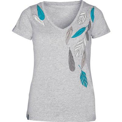 L-pro West T-Shirt Feathers