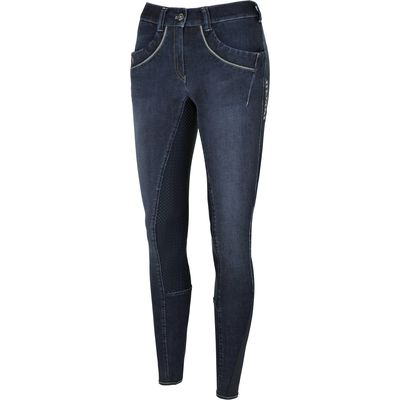 PIKEUR Reithose Elfa Grip denim blue | 84