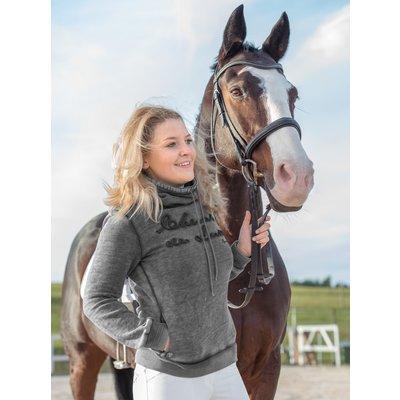Cheval de Luxe Pullover Contess grey melange   XXS