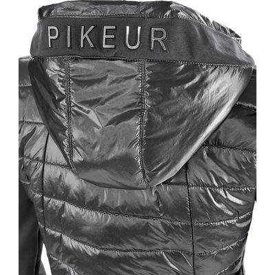 Pikeur New Generation Materialmix-Jacke Hollie grey | 46