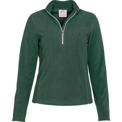 Cheval de Luxe Funktions-Fleeceshirt wood green | XXS