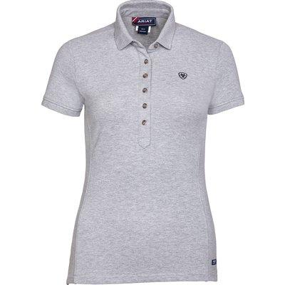 ARIAT Poloshirt Prix heather grey | XL