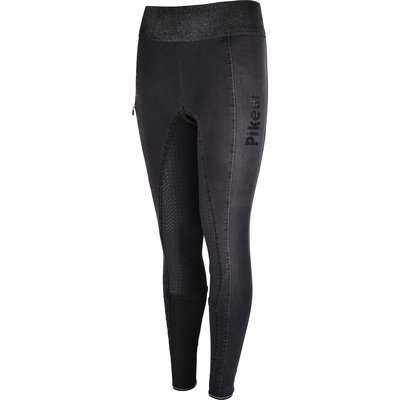 Pikeur Reithose Iona Grip Jeans Athleisure black | 158