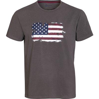 L-pro West T-Shirt steel | S