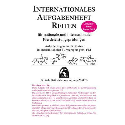 Internationales Aufgabenheft Reiten, FNverlag
