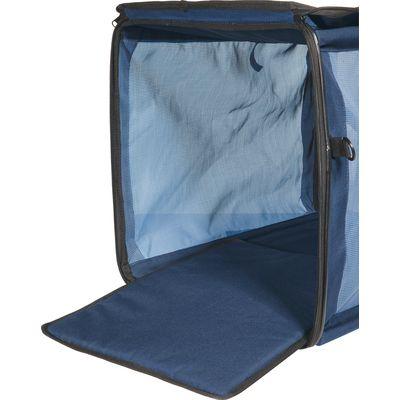 Faltbox für Hunde blau | S (43x25x25 cm)