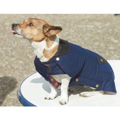 Wachs-Hundemantel