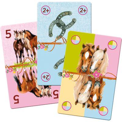 Die Spiegelburg Pferdefreunde Kartenspiel Mau Mau