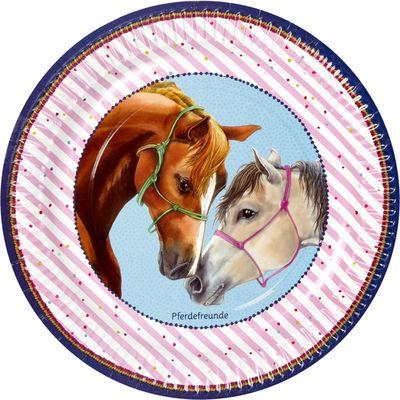 Die Spiegelburg Pferdefreunde Pappteller