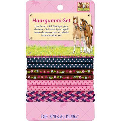 Die Spiegelburg Pferdefreunde Haargummi-Set