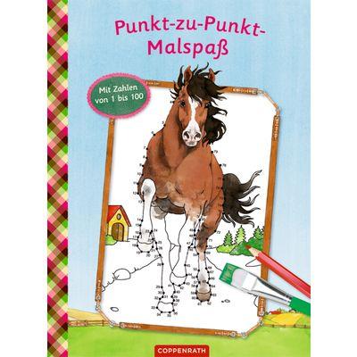 Die Spiegelburg Pferdefreunde Punkt-zu-Punkt Malspaß