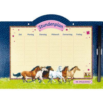 Die Spiegelburg Pferdefreunde Stundenplan