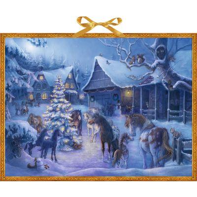 Adventskalender Weihnachten auf dem Pferdehof