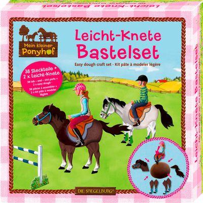 Die Spiegelburg Mein kleiner Ponyhof Leicht-Knete Bastelset