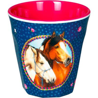 Die Spiegelburg Pferdefreunde Melamin-Becher