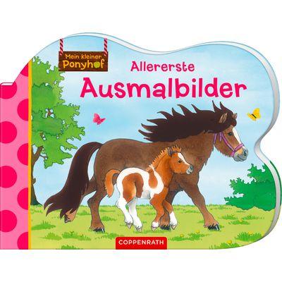 Die Spiegelburg Mein kleiner Ponyhof Ausmalbilder