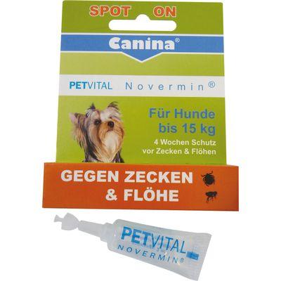 Canina PETVITAL Novermin, für Hunde bis 15 kg