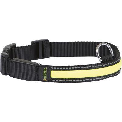 KERBL Leucht-Hundehalsband Light & Reflex