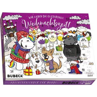PUMMELEINHORN Adventskalender, für Hunde 2020