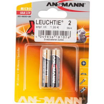 Ersatzbatterien für Leuchtie Plus