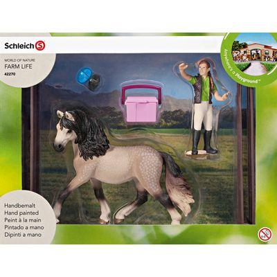 Schleich Pferdepflegeset Andalusier