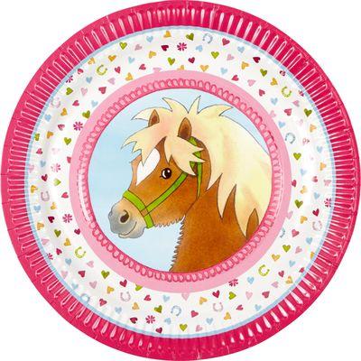 Die Spiegelburg Mein kleiner Ponyhof Partyteller