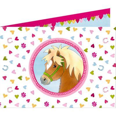 Die Spiegelburg Mein kleiner Ponyhof Einladungskarten