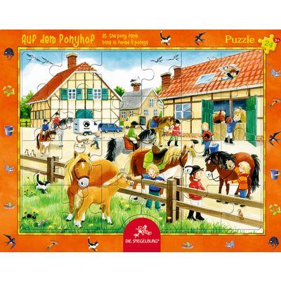 Die Spiegelburg Puzzle Auf dem Ponyhof