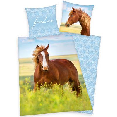 Renforcé Bettwäsche Pferd Freedom