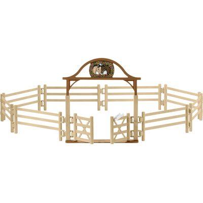 Schleich Pferdekoppel mit Eingangstor
