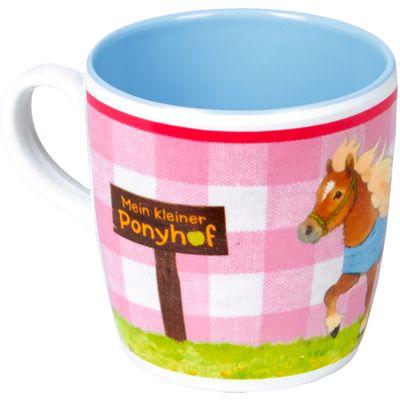 Die Spiegelburg Mein kleiner Ponyhof Melamin-Tasse
