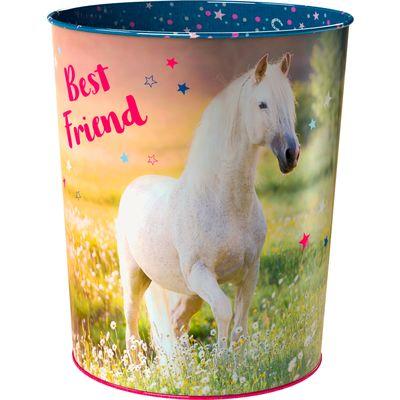 Papierkorb Pferdefreunde Best Friend