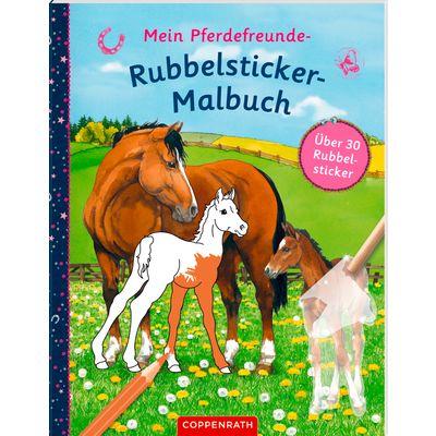 Rubbelsticker-Malbuch