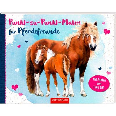 COPPENRATH Punkt-zu-Punkt-Malen Pferdefreunde
