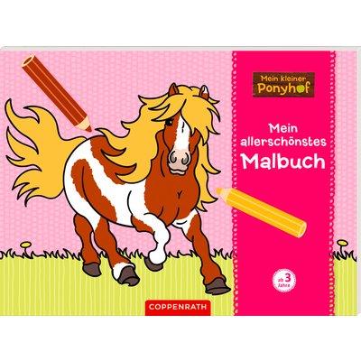 COPPENRATH Mein allerschönstes Malbuch Mein kleiner Pony