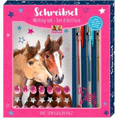 Die Spiegelburg Schreibset Pferdefreunde