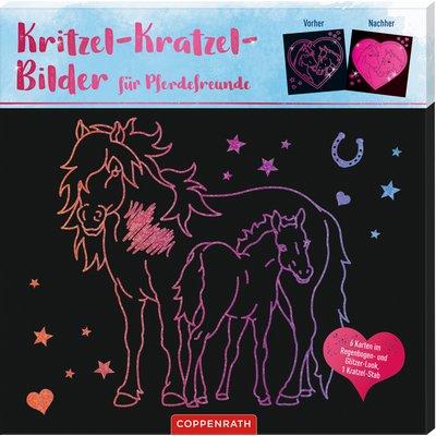 COPPENRATH Kritzel-Kratzel-Bilder für Pferdefreunde