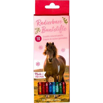 Die Spiegelburg Radierbare Buntstifte Pferdefreunde