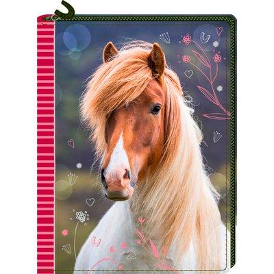 DIE SPIEGELBURG Tagebuch mit Reißverschluss Pferdefreunde
