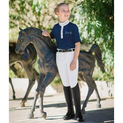 Cavallo Reithose Cleo Grip Dot weiß | 176