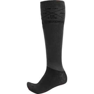 Cheval de Luxe Kniestrümpfe Thinsocks black   42-46