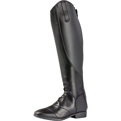black forest Reitstiefel Porto Jump Carbon Optik