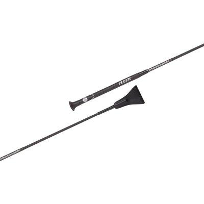 FLECK Springgerte Carbon schwarz | 60 cm