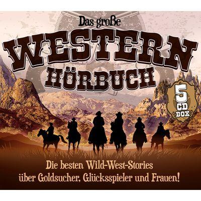 Das große Western Hörbuch, Hörbuch, 5 CDs