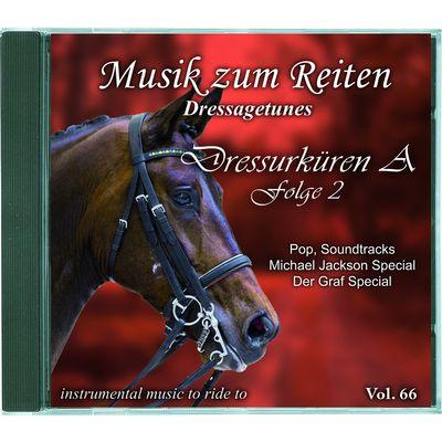 Musik zum Reiten - Dressagetunes Vol. 66 CD