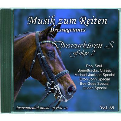 Musik zum Reiten - Dressagetunes Vol. 69 CD