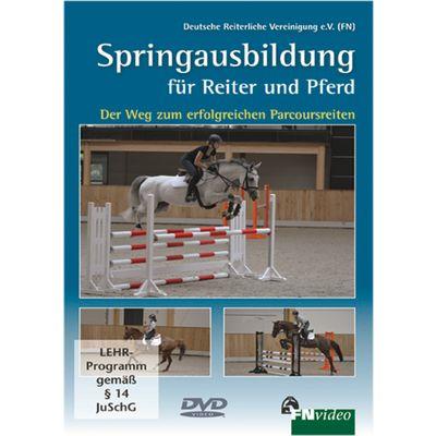 Springausbildung für Reiter und Pferd, FNverlag, DVD
