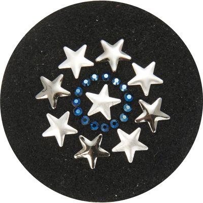 Stirnbandrosetten Sterne, Paar