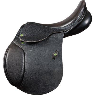 Loesdau Springsattel Elk-Deluxe B-Ware schwarz | 17,5 Zoll