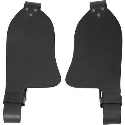 Fender für Westernsättel schwarz | 14 Zoll